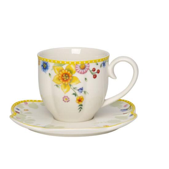 V&B Spring Awakening kávés csésze + alj