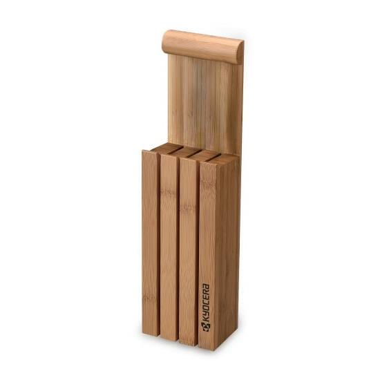Kyocera KBBLOCK3 késtartó bambusz