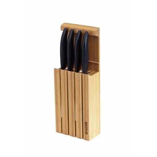 Kyocera KBLOCK4 késtartó bambusz