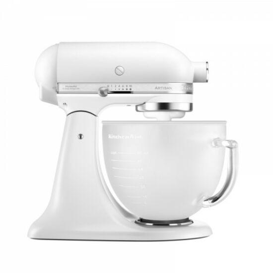 Kitchen Aid robotgép gyöngy, matt üvegtállal 5KSM156PS EFP