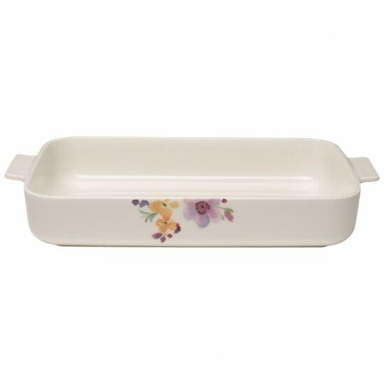 V&B Mariefleur Basic szögletes sütőtál 34*24cm