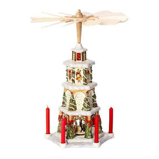 V&B Christmas Toys Memory karácsonyi piramis