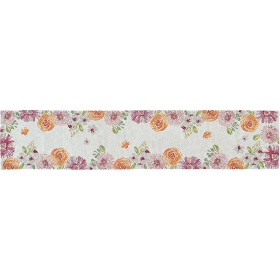 Sander tányéralátét NERISSA 32*48cm FB5 narancssárga-rózsaszín