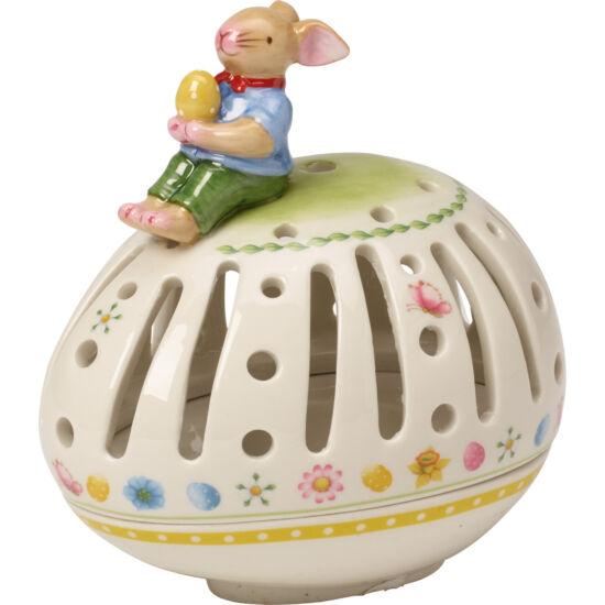 V&B Bunny Family mécsestartó, Fekvő tojás
