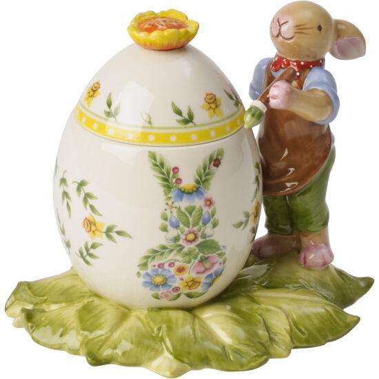 V&B Bunny Family tojás doboz nyuszi fiúval